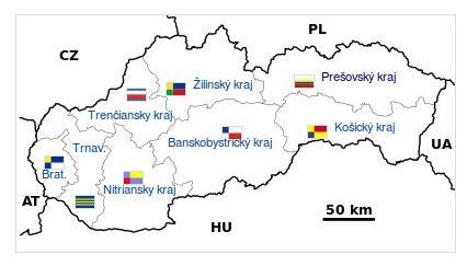 Slovensko - kraje